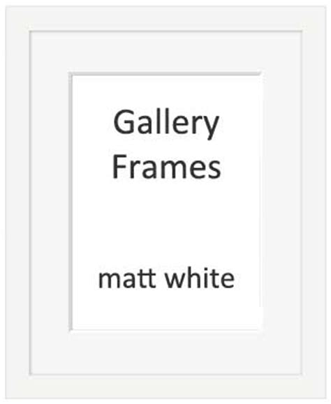 50cm By 70cm Picture Frame by Gallery Wooden Picture Frame White 60x80cm With 50cm X