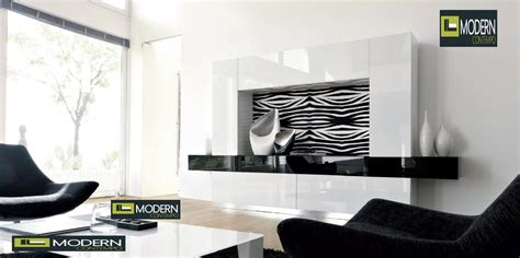 exclusive and modern wall unit design ideas modern