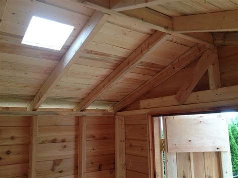 Skylight For Shed by Maple Ridge Shed With Skylight Traditional Shed