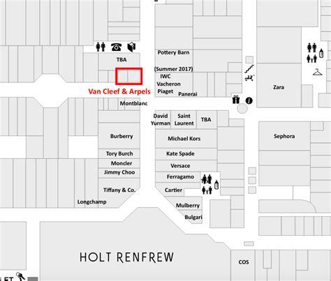 yorkdale mall floor plan van cleef arpels to open 1st freestanding toronto store