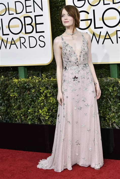 emma stone golden globes emma stone golden globe awards in beverly hills 01 08 2017
