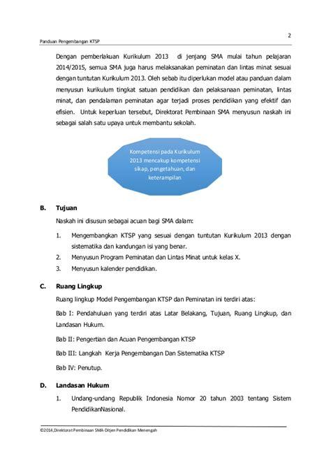 artikel peraturan menteri pendidikan nasional republik indonesia 1 pengembangan ktsp