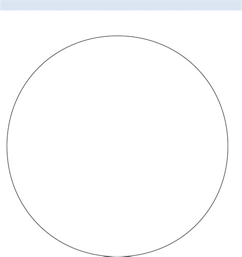 pie template pin circle graph template printable on