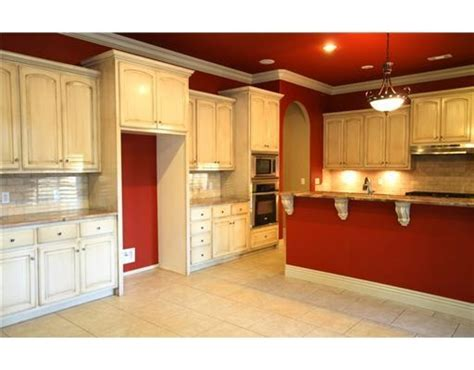 red kitchen with white cabinets red kitchen walls white cabinets home decor ideas and