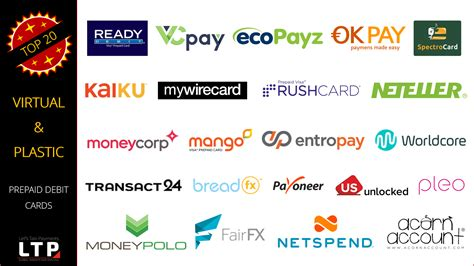 Gift Card For International Use - top 20 virtual and plastic prepaid debit cards for hassle free travel shopping and
