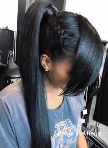 30 black ponytail hairstyles