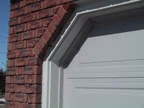 Weather Stripping Around Garage Door How To Insulate The Gaps Between The Garage Door And Side Wall How To Build A House