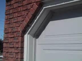 Garage Door Weatherstrip How To Insulate The Gaps Between The Garage Door And Side Wall How To Build A House