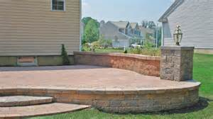 raised patios gallery and patio professionals