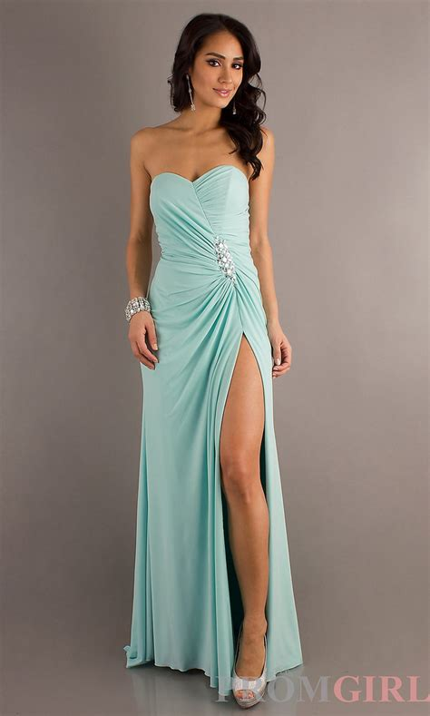 Bridesmaid Dresses With Slits Up The Leg - 46 best images about prom dresses on one