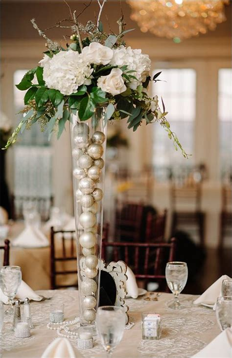 25 best ideas about christmas wedding centerpieces on