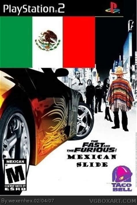 fast and furious mexican song the fast and the furious mexican slide playstation 2 box