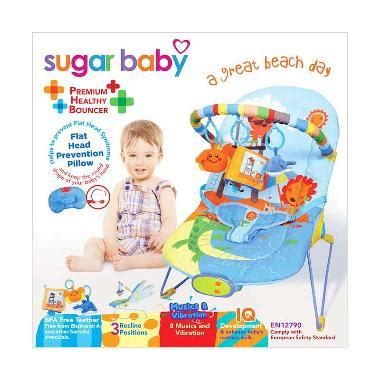 Sugar Baby Premium Healthy Bouncer Great Day jual sugar baby 3 recline a great day bcr30003 baby