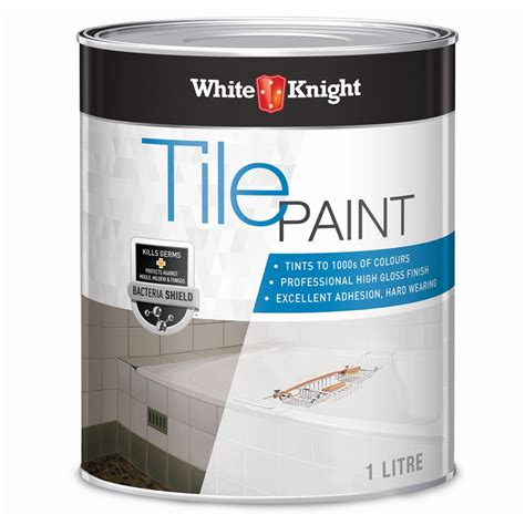 white 1l neutral tile paint bunnings warehouse
