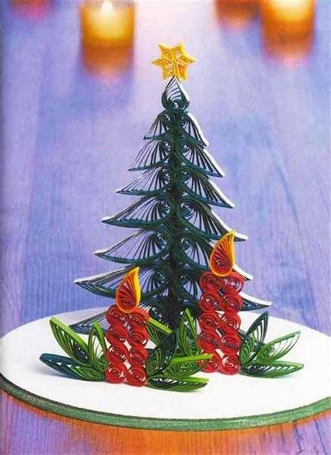 Paper Craft Ideas For Adults - trees crafts and quilling on