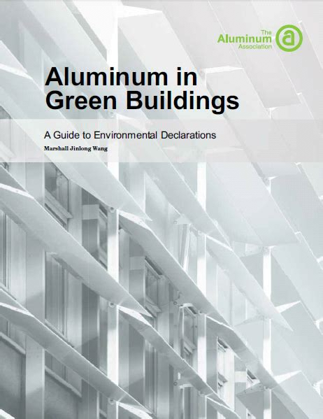 arden environmental a guide to understanding green buildings updated aluminum in green buildings guidelines light