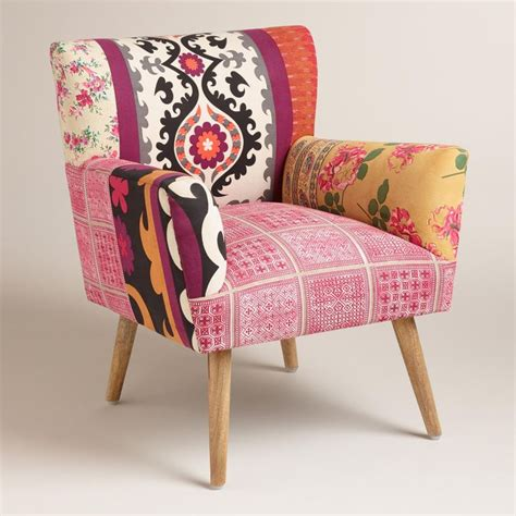 pink patterned chair how to cheer the interior with pink accent chair homesfeed