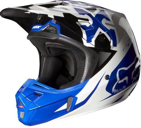 mens motocross helmets 279 95 fox racing mens v2 anthem helmet 2014 195010