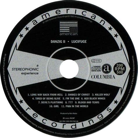 Danzig Danzig Ii Lucifuge Cd car 225 tula cd de danzig ii lucifuge portada