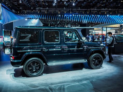 Auto Mit G by 2018 Detroit Auto Show The New Mercedes G
