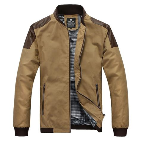 Patchwork Jacket Mens - new s clothing leather patchwork casual jacket coat