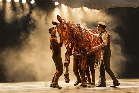 war horse donloe s lowdown war horse gallops into the ahmanson