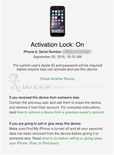 check iphone ipad icloud activation lock status