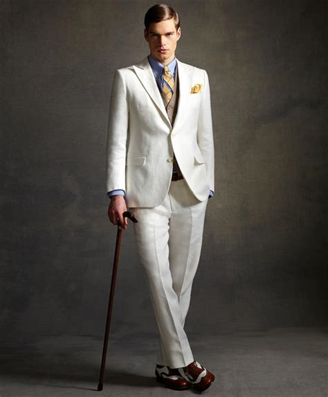 great gatsby themed tuxedo the great gatsby menswear collection by brooks brothers