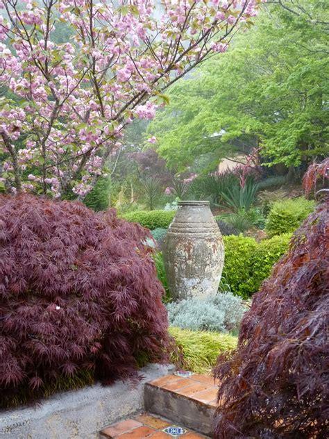 japanese garden statues landscape contemporary with asian concrete concrete steps