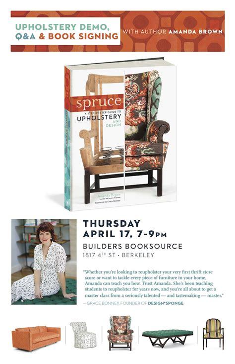 spruce upholstery book spruce upholstery book spruce upholstery spruce west