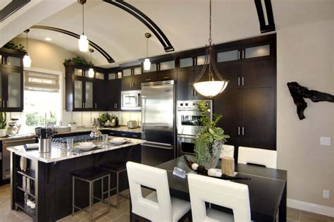 modern kitchen layout ideas kitchen ideas design styles and layout options hgtv