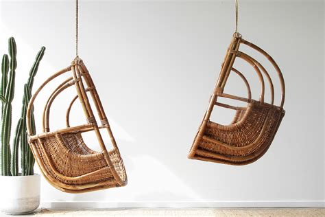 rattan hanging chairs naturally cane rattan  wicker