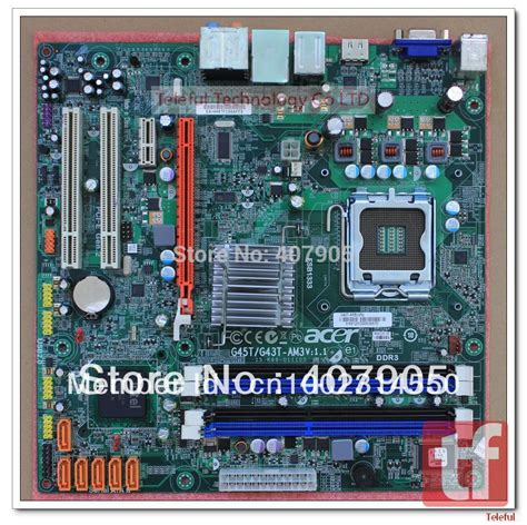 carte mere pc bureau carte m 232 re pour acer m3800 g45t g43t am3 pc dans cartes