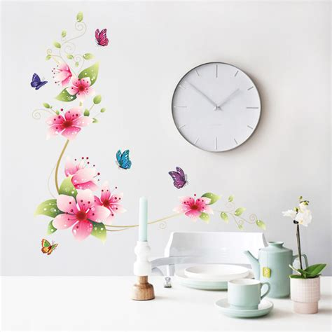 flower wall stickers aliexpress buy 5 design small flower wall