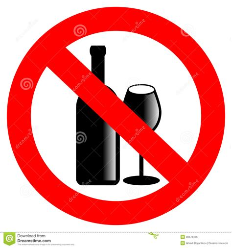 alcohol vector image gallery no drinking sign alcohol