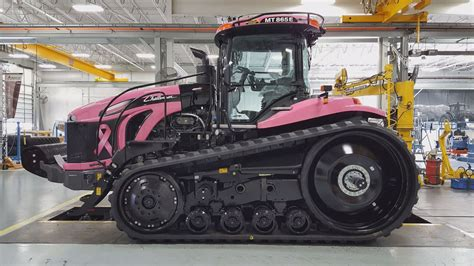 jackson agriculture company creates pink tractor