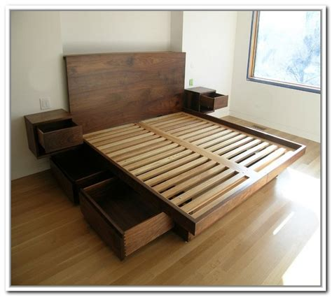 how to make a platform bed with storage how to build a platform bed with storage best storage