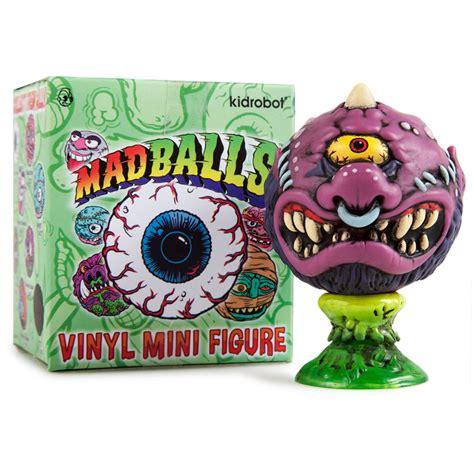Vinyl Madball kidrobot x madballs vinyl minis the awesomer