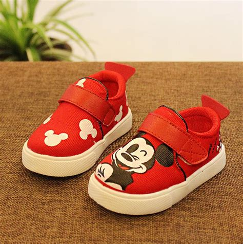 popular mickey mouse canvas shoes buy cheap mickey mouse