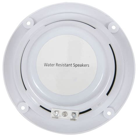 speakers for bathroom ceiling 2x waterproof bathroom kitchen patio ceiling speakers 13cm