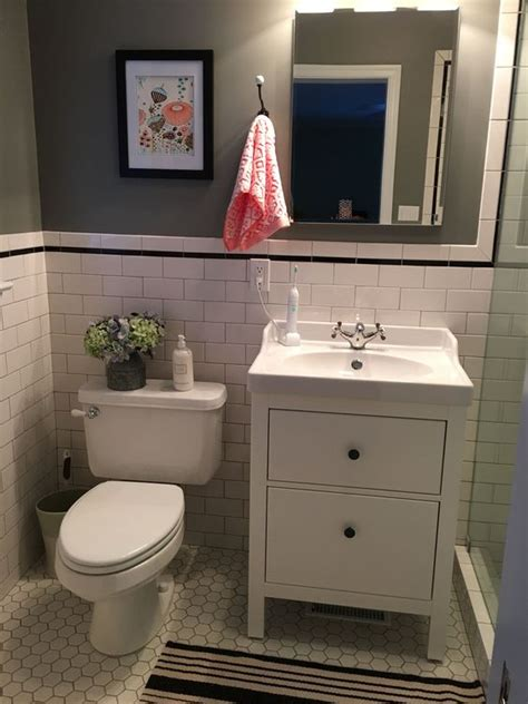 Ikea Bathroom Vanity Ideas by Ikea Hemnes Bathroom Vanity Bathroom Remodel