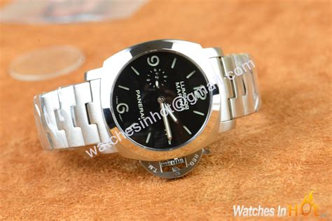 Panerai Pam328 P Ss Braceletstrap Automatic Clone pam 328 replica review p 9000 models with bracelet replica watches reviews