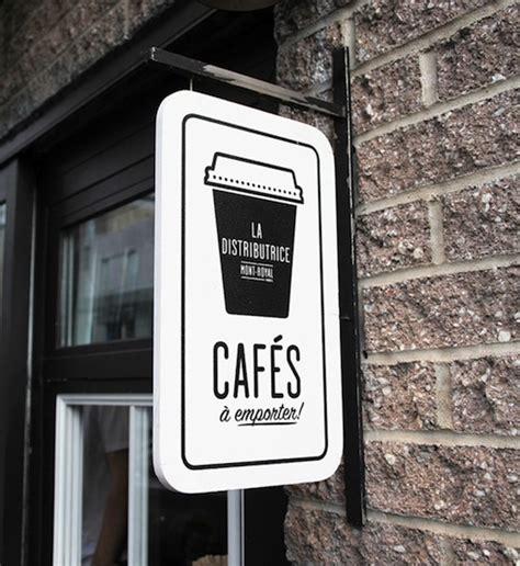 coffee shop signage design coffee shop that reinvents takeout coffee service