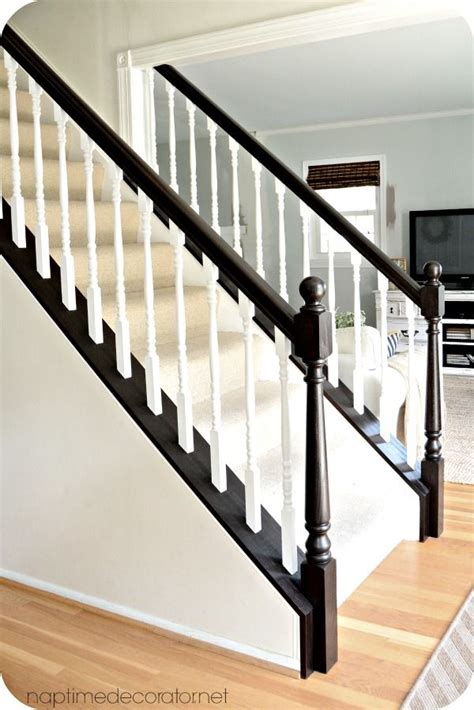 staircase banister ideas best 25 staircase makeover ideas on pinterest stair