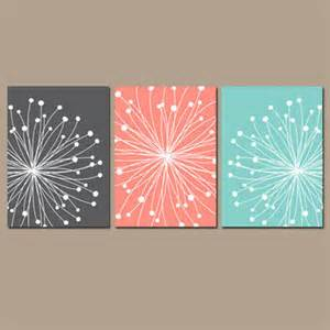 Coral Colored Wall Decor by Best Aqua And Coral Bedroom Products On Wanelo