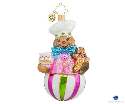 1017760 christopher radko sweet treat baker christmas ornament