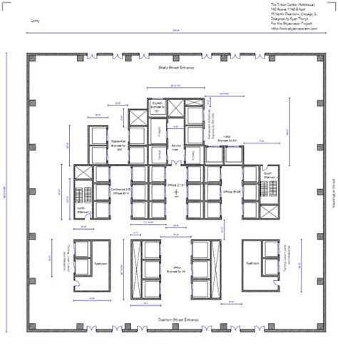 skyscraper floor plan the triton center 142 floors chicago fictitious skyscrapercity