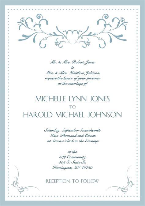 wedding invitation card format sle wedding invitation card sle wedding invitation cards in new invitation
