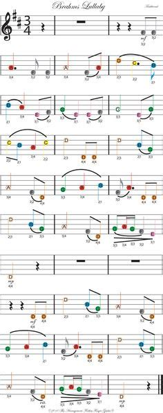 cuna de beethoven color coded free violin sheet for twinkle twinkle