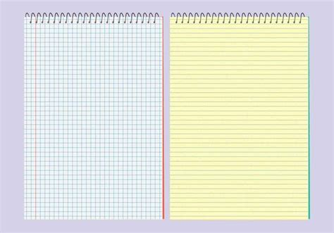 Template Notebook by Vector Notebooks Templates Free Vector